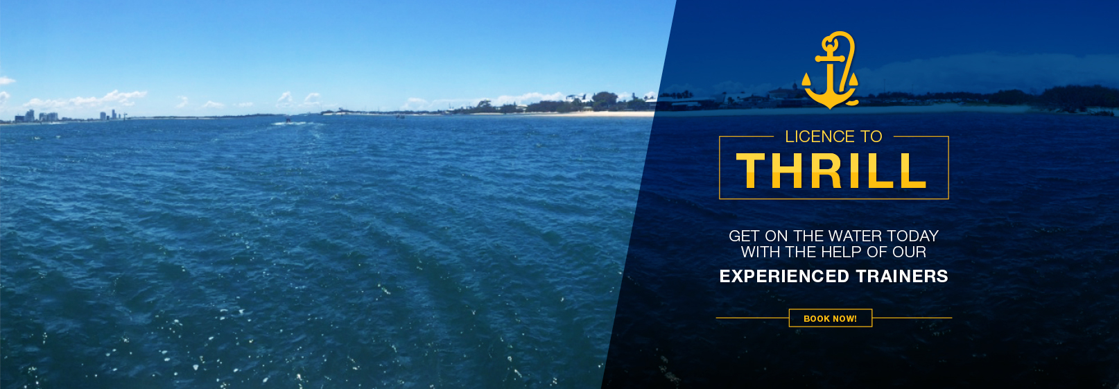 Gold Coast Boat & Jetski Licenses online now